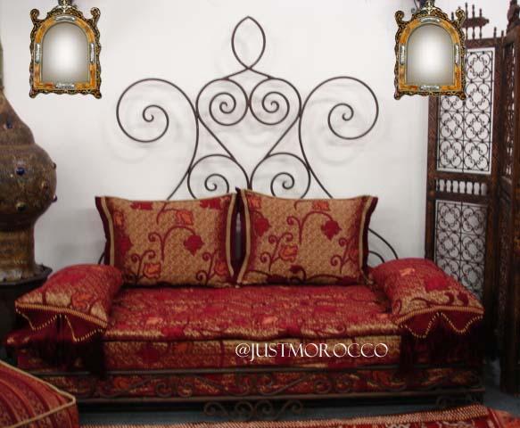جمال  الصالون المغربي بالصور Wroughtironsofa1