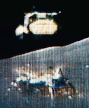 La NASA va spécifier le moteur de remontée du futur LEM ... Retour