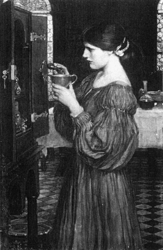 Il paganesimo nell'arte Waterhouse_the_love_philtre