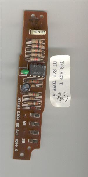 REFERENCE: BMW Instrument Cluster schematics 81