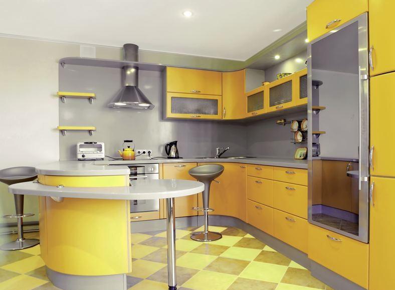 nouveau chez moi ... besoin de vos conseils  Astuces-d%C3%A9coration-cuisine-gris-et-jaune