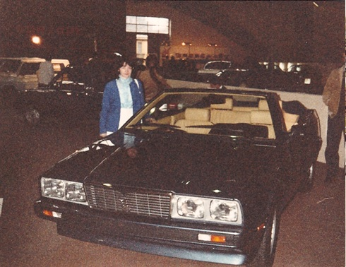 biturbo spyder allestita dalla embo 1982i