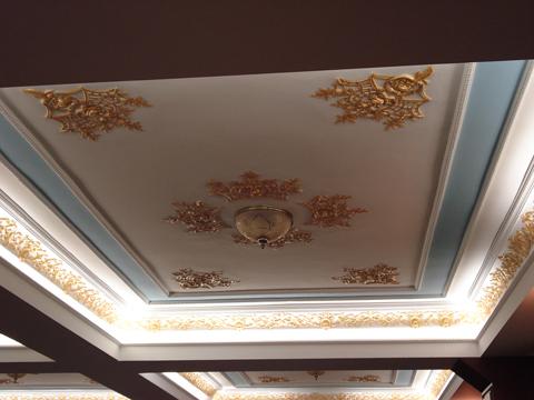 ديكورات حصرية لأسقف عصرية أسقف مودرن بالصور 2013 Renkli-asma-tavan-modeli