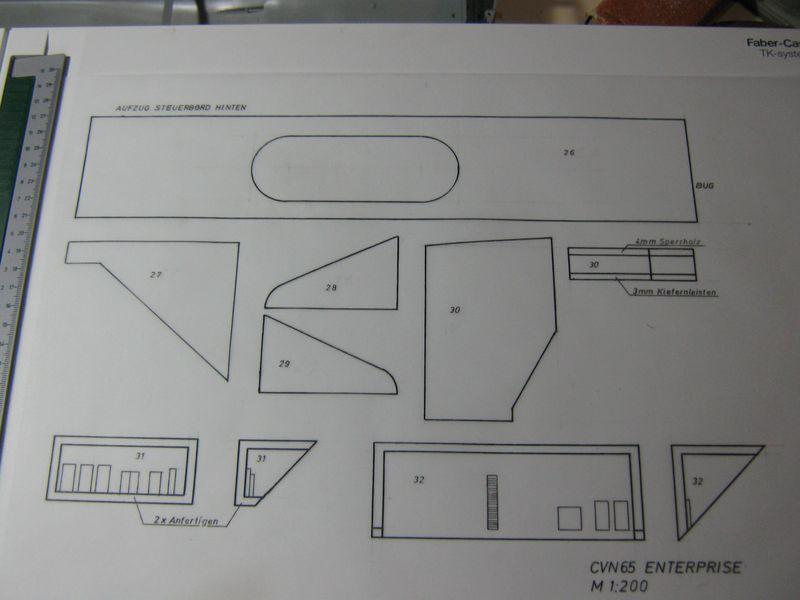 Planung des Flugzeugträgers CVN 65 Enterprise 1/200. Enterprise%20021