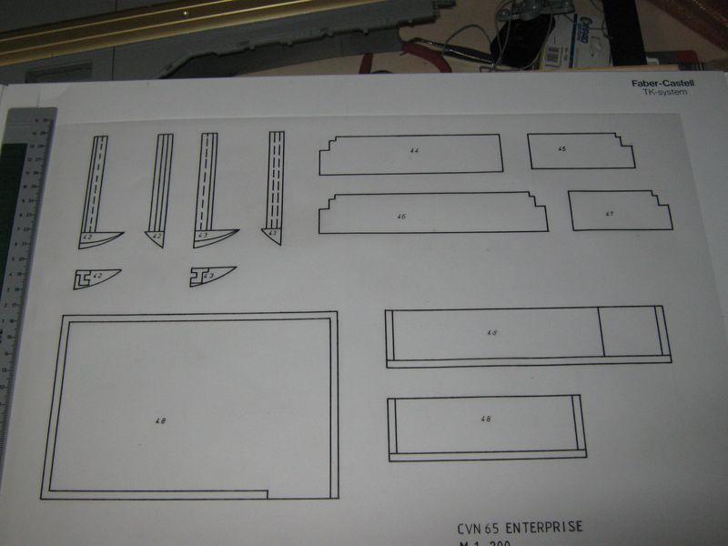 Planung des Flugzeugträgers CVN 65 Enterprise 1/200. Enterprise%20023
