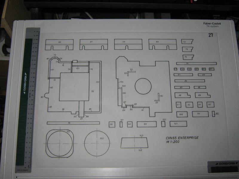 Planung des Flugzeugträgers CVN 65 Enterprise 1/200. Enterprise%20027