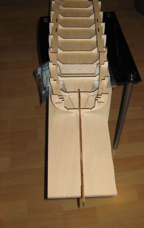 Bau der Tirpitz aus der Hachette Bismarck Heftserie 1/200 Tirpitz%20017