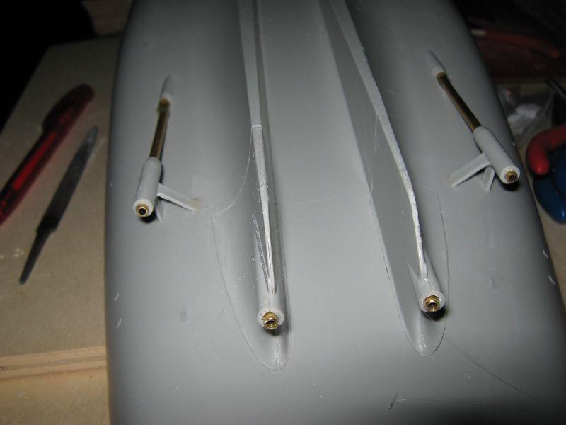 Bau der Missouri von Trumpeter in 1/200 Missouri%20048