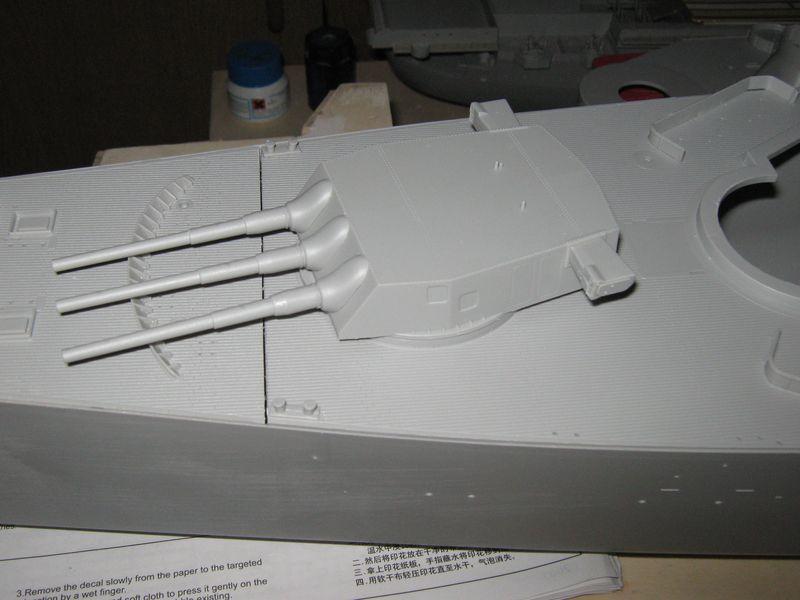 Bau der Missouri von Trumpeter in 1/200 - Seite 2 Missouri%20068