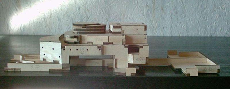Schlachtschiff Bismarck von Amati 1/200 Bismarck%200032