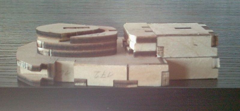 Schlachtschiff Bismarck von Amati 1/200 Bismarck%200035