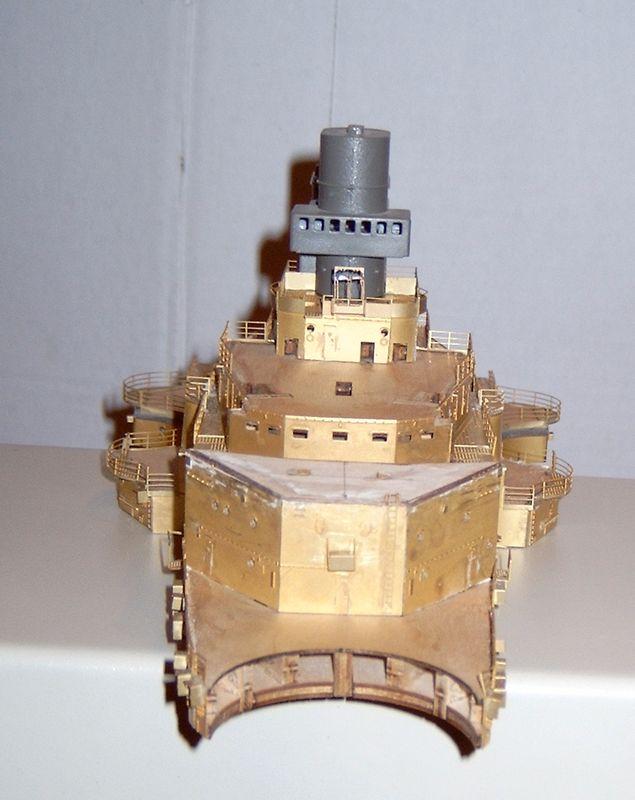 Schlachtschiff Bismarck von Amati 1/200 Bismarck%200062