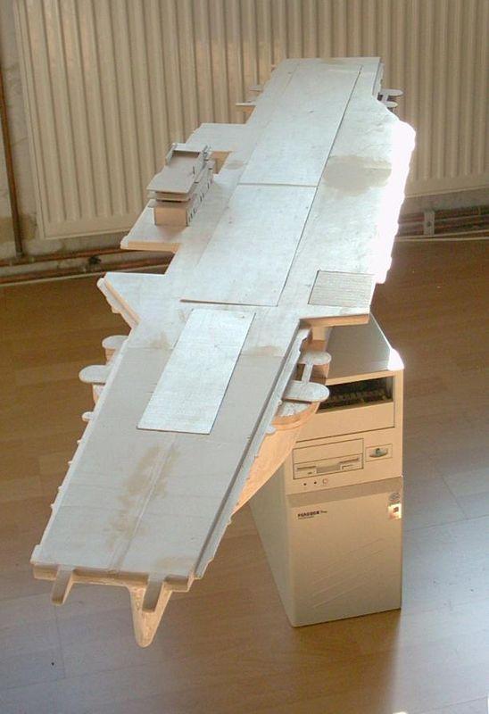 Flugzeugträger Forrestal 1/200 von kaewwantha Forrestall%200018