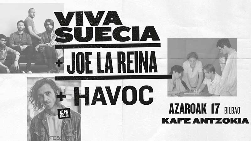 """VIVA SUECIA  """"El Milagro"""" Nuevo disco el 4 de Octubre. - Página 3 171117-viva-suecia-joe-lareina-havoc-kafe-antzokia"""