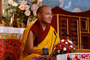 karmapa - Enseignement: Vivre le Dharma par SS le 17ème Karmapa Enseignements4