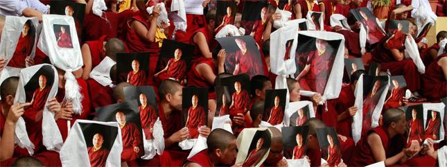 Actualités du Bouddhisme dans le monde : Sa Sainteté s'adresse aux supporters ! 2011-02-03_2