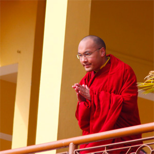 Actualités du Bouddhisme dans le monde : Sa Sainteté s'adresse aux supporters ! 2011-02-03_4