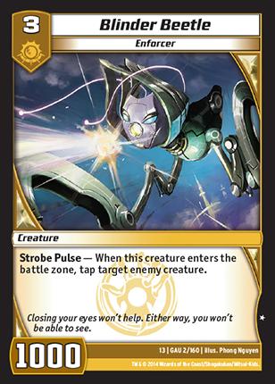 Kaijudo Card Game Blinder_Beetle
