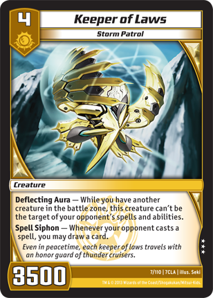 Kaijudo Card Game Keeper_of_Laws