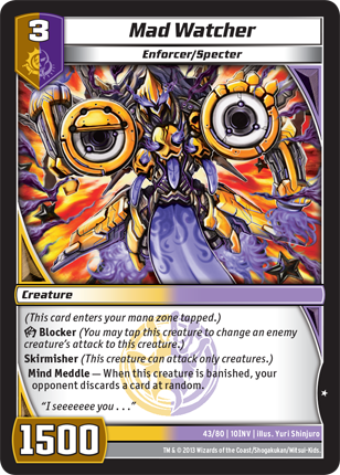 Kaijudo Card Game Mad_Watcher