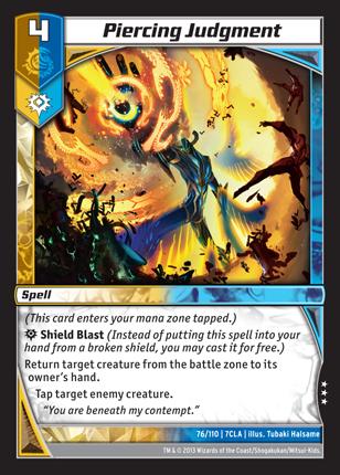 Kaijudo Card Game Piercing_Judgment