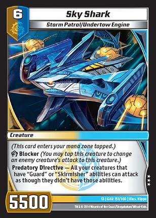 Kaijudo Card Game Sky_Shark