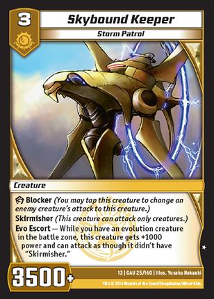 Kaijudo Card Game Skybound_Keeper
