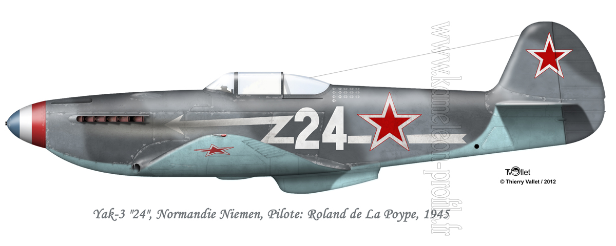 Yak-3 Roland de la Poype: Normandie Niemen Yak%203%20La%20Poype%20V5