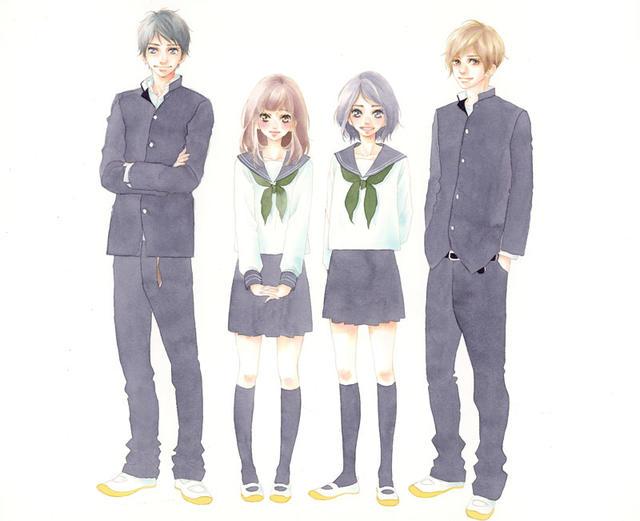 [News] Un nouveau manga pour Io Sakisaka (Strobe Edge + Blue Spring Ride) : Love, be loved, leave, be left ! Io-sakisak