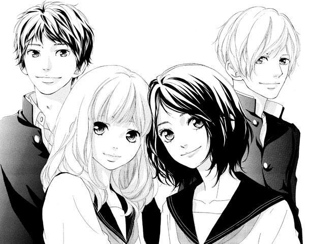 [News] Un nouveau manga pour Io Sakisaka (Strobe Edge + Blue Spring Ride) : Love, be loved, leave, be left ! Io-sakisaka