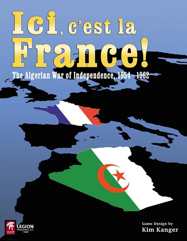 Le jeu de la guerre d'Algerie Frontcover