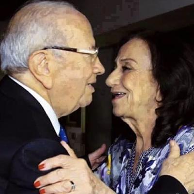 Saïda Chelbia Farhat, la nouvelle première dame de Tunisie  Beji-Caid-Essebsi-et-son-epouse-2