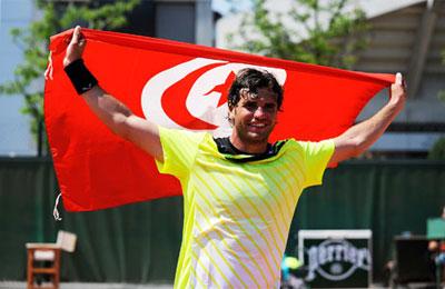 Le Tunisien Malek Jaziri s'incline… la tête haute  Jaziri00