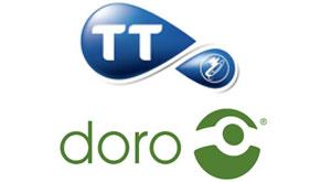 Doro et Tunisie Telecom annoncent la distribution de 3 packs de téléphones mobile et fixe en Tunisie!  Tt_doro_12_9