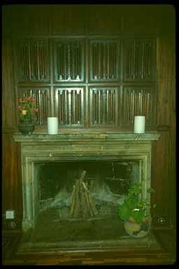 Karen Blixen Fireplace