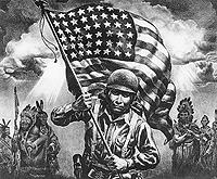 L'OR NOIR DES HOPIS La fin d'un monde Nativeamericansoldier