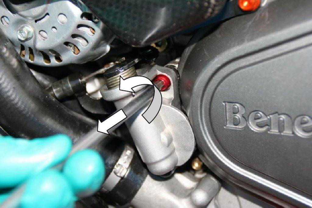 commande hydraulique - Page 3 Evotech-Kupplung-Seilzug-Benelli-Tre-Motor
