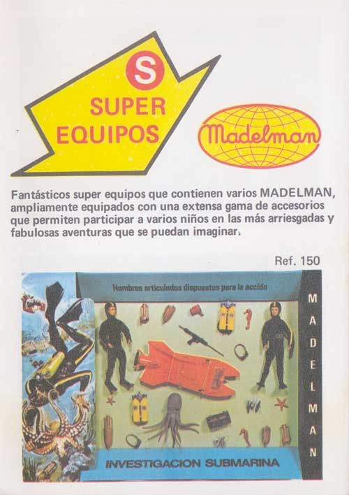 Madelman FIRST GENERATION Madsupeq01