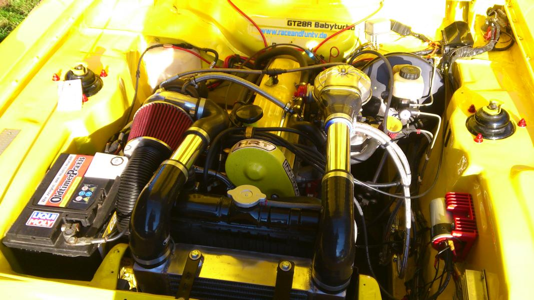 First Start of my Carb OHC Turbo Capri :D Capriturbo