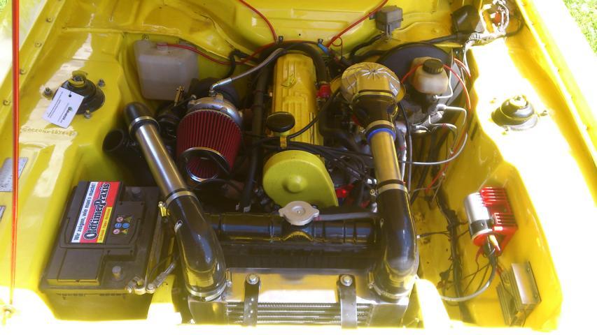 Capri Mk1 OHC Pinto Turbo GT28R Capriturboohc03