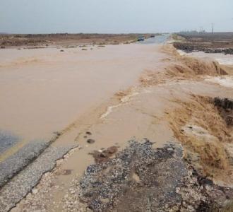 السيول تغلق طريق بغداد الدولي في الصفاوي 271550_20_1607173394