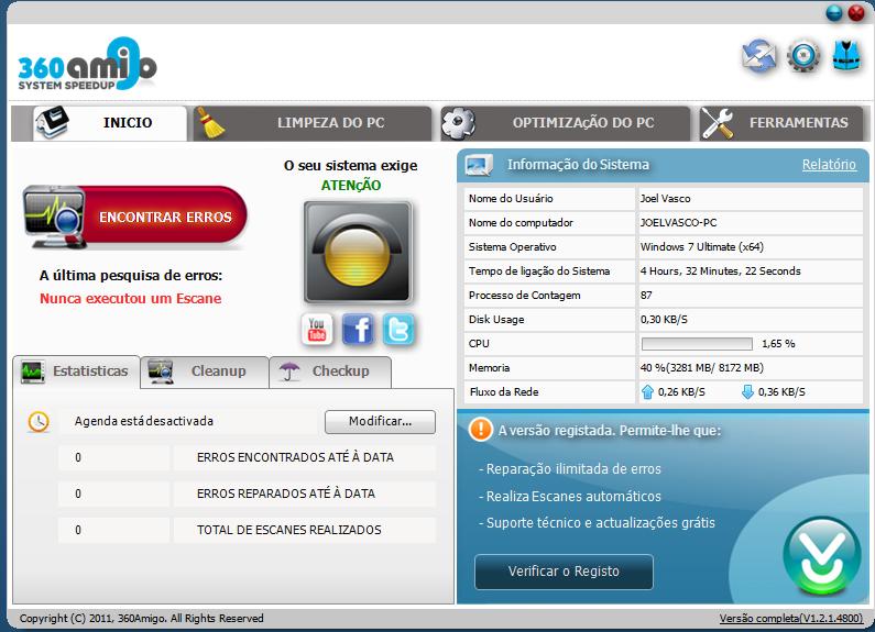 360Amigo System Speedup 360-amigo