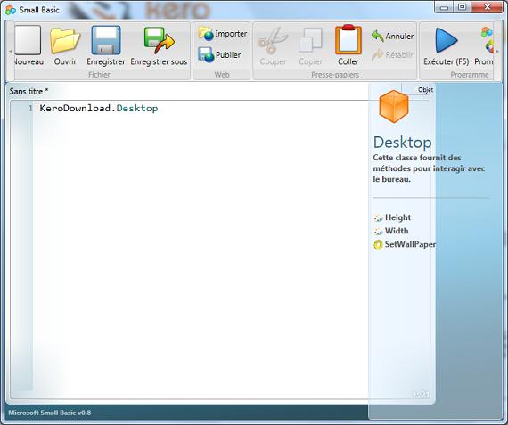 Microsoft Small Basic 0.9  38558