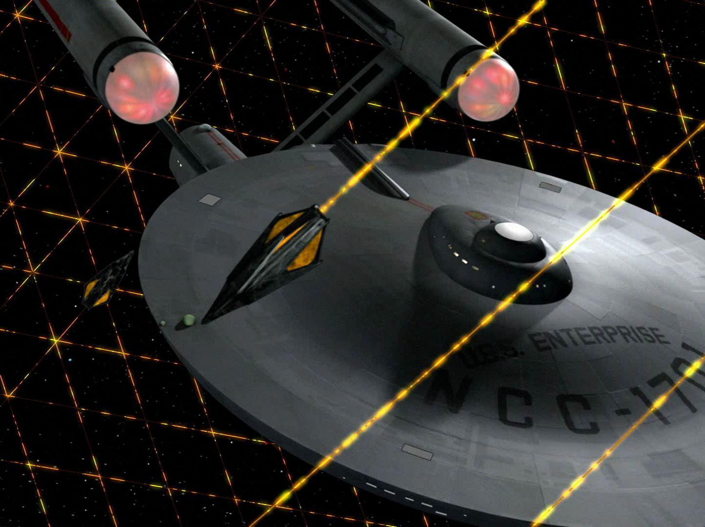USS Enterprise NCC-1701 REVELL TOS3x09
