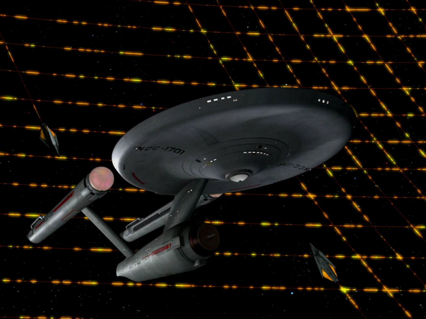 USS Enterprise NCC-1701 REVELL TOS3x09i