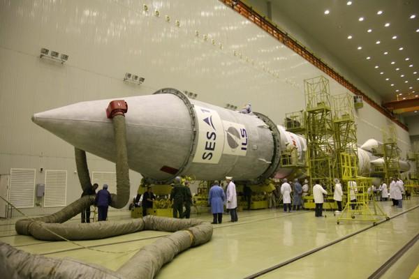 Lancement Proton-M Briz-M / SES-1 (24/04/2010) AMC-16