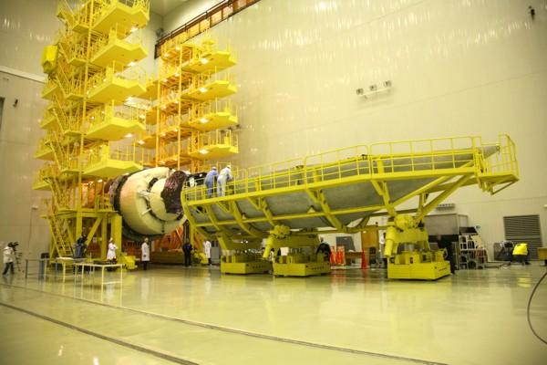 Lancement Proton-M Briz-M / SES-1 (24/04/2010) AMC-7