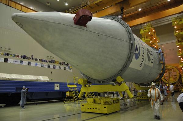 Lancement Proton-M Briz-M / W7 (24/11/2009) W7_151109_1