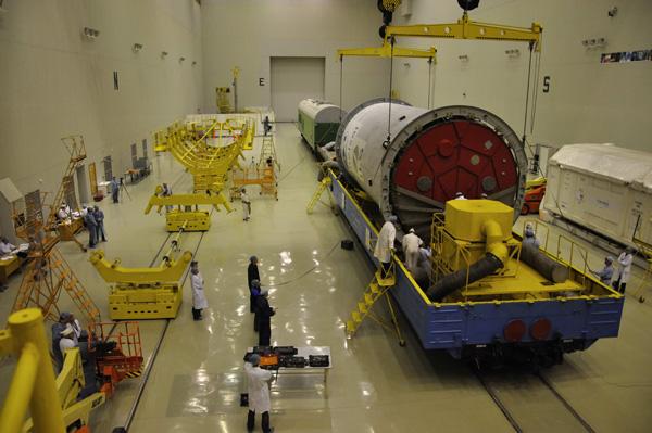 Lancement Proton-M Briz-M / W7 (24/11/2009) W7_151109_3