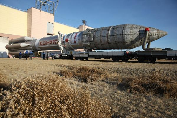 Lancement Proton-M Briz-M / W7 (24/11/2009) W7_181109_2